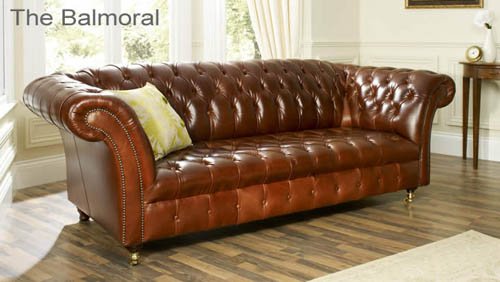 The Bronx Aniline Leather Sofa