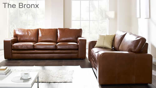 The Bronx Aniline Leather Sofa