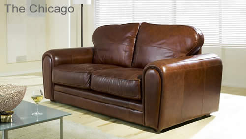 Ordinaire The Chicago Aniline Leather Sofa